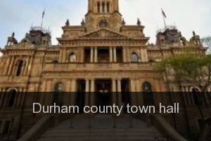 Durham county Town hall