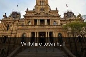 Wiltshire Town hall