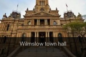 Wilmslow Town hall
