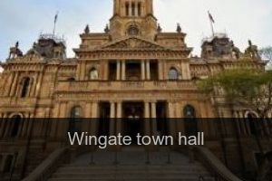 Wingate Town hall