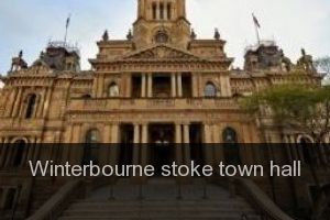 Winterbourne stoke Town hall