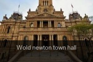 Wold newton Town hall
