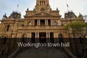 Workington Town hall